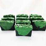 Charcoal-Soap Peppermint, Rosemary-and-Eucalyptus-Set