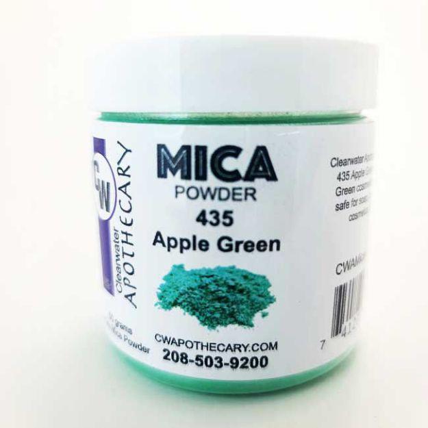 Mica_435_Apple-Green_50gr